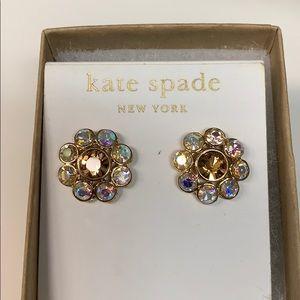 Kate Spade large flower studs
